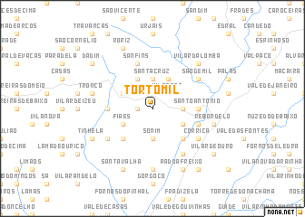 map of Tortomil