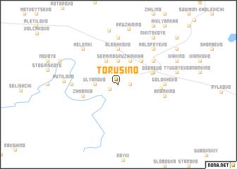 map of Torusino