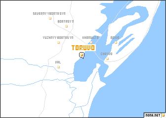 map of Toruvo