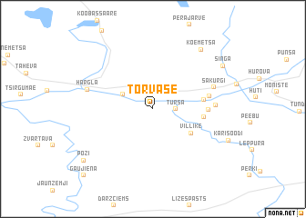map of Tõrvase