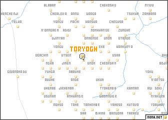 map of Toryogh