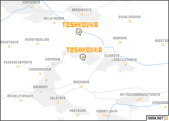 map of Toshkovka