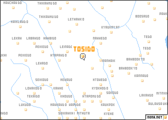 map of Tosido