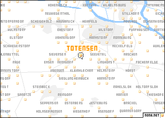 map of Tötensen