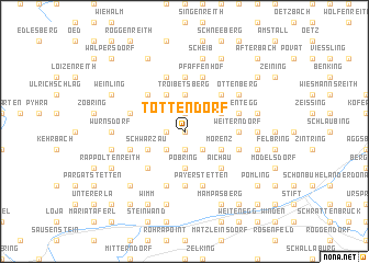 map of Tottendorf