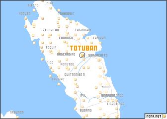 map of Totuban
