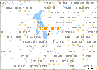 map of Touamrine
