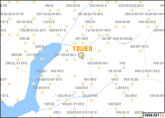 Touba Senegal map nonanet
