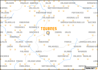 map of Toubres