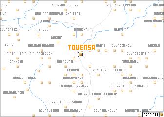 map of Touensa
