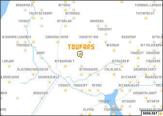 map of Tou Fars