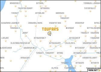 map of Tou Fars