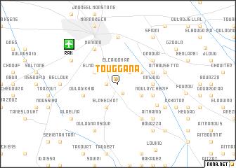 map of Touggana