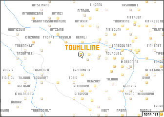 map of Toumliline