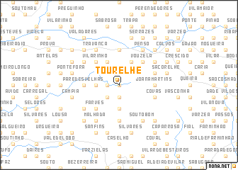map of Tourelhe