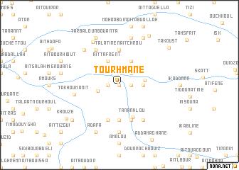 map of Tourhmane