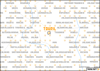 map of Touril