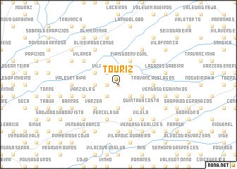 map of Touriz
