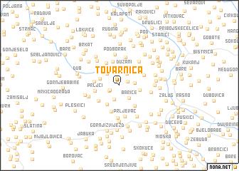 map of (( Tovarnica ))