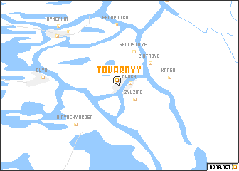 map of Tovarnyy