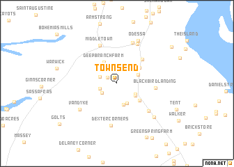 map of Townsend