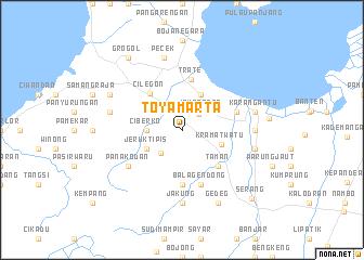 map of Toyamarta
