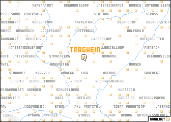 map of Tragwein