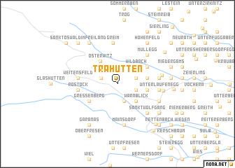 map of Trahütten