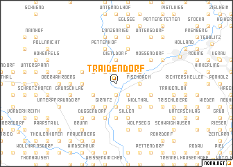 map of Traidendorf