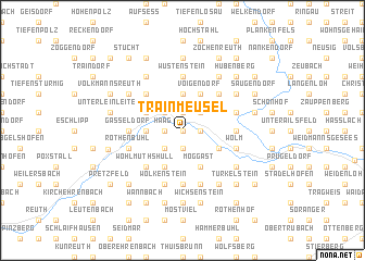 map of Trainmeusel
