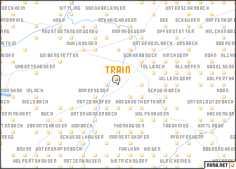 map of Train