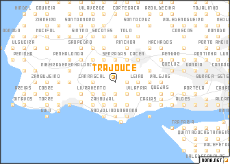 map of Trajouce