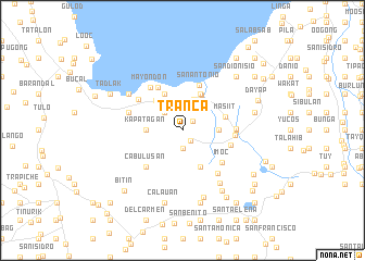 map of Tranca