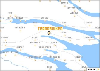 Trångsviken Sweden Map Nonanet - Jamtland sweden map