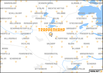 map of Trappenkamp