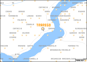 map of Trarego