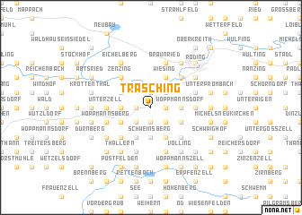 map of Trasching