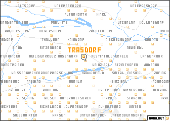 map of Trasdorf