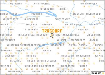 map of Trasdorf