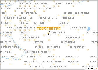 map of Trasenberg