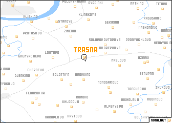 map of Trasna