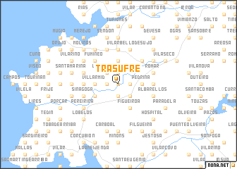 map of Trasufre