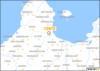 map of Trate