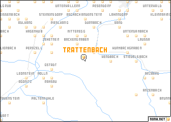 map of Trattenbach