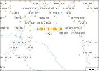 map of Trattenbach