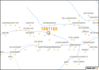 map of Tratten