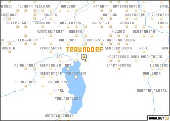 map of Traundorf
