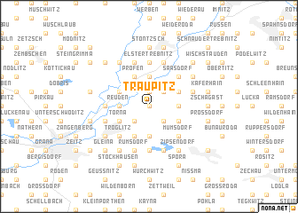 map of Traupitz