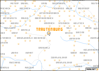 map of Trautenburg