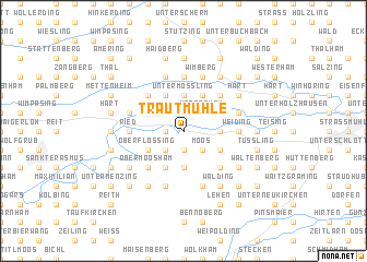 map of Trautmühle